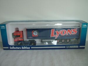UNIVERSAL HOBBIES 5610 - SCANIA R580 - LYONS EUROPEAN LIMITED - LIMITED EDITION