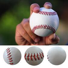 10X Baseball Leather Team Game 9'' Trainning Base Ball Softball Teenage Sport-AU