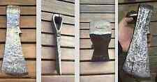 enorme hache bucheron charpentier menuisier art populaire fer forgé forme rare