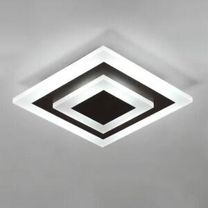 Modern Semi Flush Mount Lighting Home LED Ceiling Chandelier Lamp Fixture
