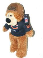 "CHICAGO BEARS 1946 CHAMPIONS PLUSH BEAR 15"" w /tag 2011 NFL GOOD STUFF"