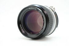 [ AS-IS ] NIKON Ai-S NIKKOR 85mm F2 Portrait MF Lens AIS From JAPAN 5020