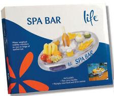 Spa Bar Drinks Holder Snack Tray