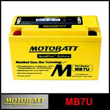 BATTERIE [MOTOBATT] MB7U = YT7BBS / YT7B4 (12 V 6,5 SCELLÉS EN ACTIVÉ