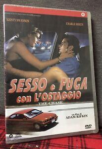 Sesso e Fuga Con L'Ostaggio DVD Nuovo Sigillato Krysty Swanson Charlie Sheen
