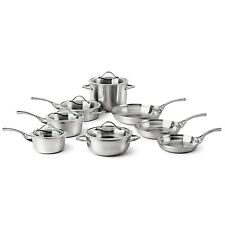 Calphalon Signature Contemporary Stainless Steel 13-Pc. Cookware Set