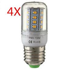 4x E27 2835 SMD LED Warm Light Home Corn Energy Saving Bulb Lamp Light 110V USA