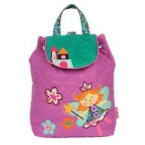 Personalised Stephen Joseph Fairy Signature backpack for kids, School Bag