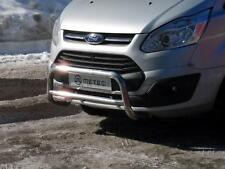 Personenschutzbügel Frontbügel Bullbar für Ford Transit Custom 2012 - Edelstahl