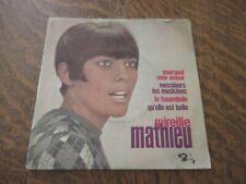 45 tours MIREILLE MATHIEU pourquoi mon amour
