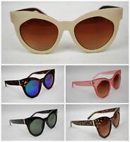Oversize Cat Eye Womens Sunglasses,High Quality Retro  New School Rockabilly