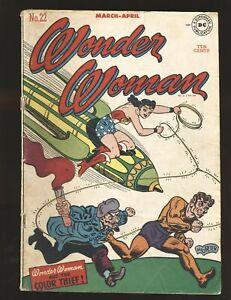 Wonder Woman # 22 qualified Fair Cond. coupon cut