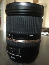 TAMRON 24-70mm f/2.8 EF mount mint condition low usage
