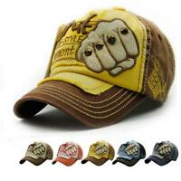 Unisex Men Women Embroidered Summer Rivet Cap Hats Casual Hip Hop Baseball Caps