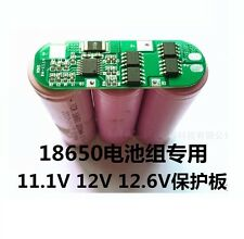 1Pcs 3S 6A Li-ion Lithium Battery 18650 Charger Protection Board 11.1V 12.6V