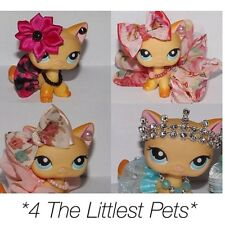 💞Littlest pet shop clothes 4pc random outfit LPS *CAT/DOG NOT INCLUDED*