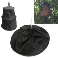 Abeja negra jaula enjambre trampa enjambre colector apicultor herramie*ws