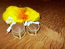 Sale !Genuine Baby's Slippers shoe ,Childrens, Real Natural Fur Shippskin