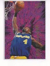 1994-95 FLEER ULTRA BASKETBALL ULTRA POWER INSERT CHRIS WEBBER #10 OF 10