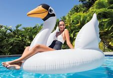 Intex Mega Swan Island - Inflatable Fun Float for Swimming Pools & The Sea