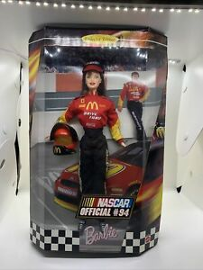 BARBIE NASCAR OFFICIAL #94 COLLECTORS EDITION NEW IN BOX 1999