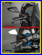 Speal015ner Coppia Specchietti neri Lightech a Manubrio Yamaha T-max 530/500 '08
