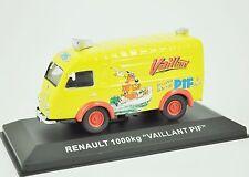 """Renault 1000kg """"VAILLANT PIF"""" 1:43 Altaya Nos Chères Camionnettes Antan"""