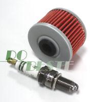 Polaris Predator 500 Tune Up Kit NGK DCPR8E Spark Plug /& HF Oil Filter Outlaw