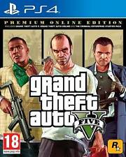 PS4 GTA Grand Theft Auto 5 - Premium Edition EU game Sony Play Station 4 GIOCO