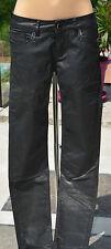 KAPORAL- Très joli pantalon noir modèle clea - TAILLE 37 - USA 27 EXCELLENT ÉTAT