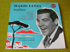 "LP 10"" 25cm MARIO LANZA a NAPOLI- RCA 230.214 Original- French press BIEM"