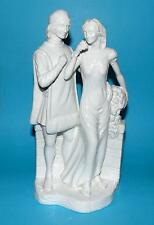 COALPORT figurine  ornament William shakespeare  ' Romeo & Juliet '   gloss