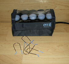 EMI Remington Travel Hairsetter 10 Rollers Curlers with 5 Clips H 1015