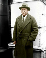 Knute Rockne Photo 8X10 - Notre Dame COLORIZED - Buy Any 2 Get 1 Free