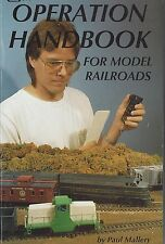 OPERATION HANDBOOK for Model Railroads: charts, diagrams, 200 photos (NEW BOOK)