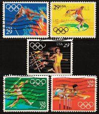 Scott #2553-57 Used Set of 5, Summer Olympics