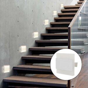 4xSet LED Treppenlicht Treppenbeleuchtung Treppenleuchte Stufenlicht Wandlampen