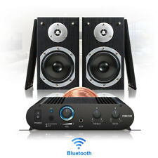 Bluetooth Home HiFi Stereo Sound Speaker and Amplifier Wireless Music System