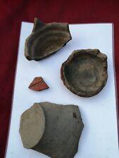 "Fragmentos de cerámica romana gigante ""raros"" Samian Ware sabueso que ejecutan #31 piezas increíble"