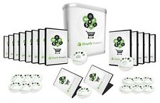 How To Build Your E-commerce Business With Shopify- Videos on 1 CD