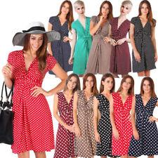 Sleeveless Wrap Dresses for Women's 1950s
