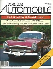 Collectible Automobile Magazine March 1985 Vol 1 - No 6