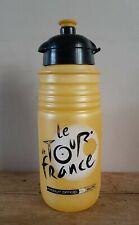 Elite TOUR DE FRANCE water bottle / bidon - cycling - from 2009 - yellow.