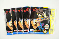 5pcs Alice A206 Acoustic Guitar Strings Stainless Steel Strings 2nd String 015