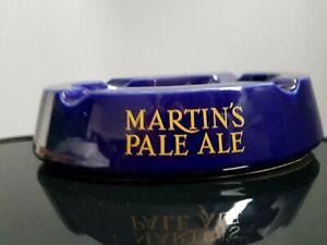 Martin's Pale Ale Ashtray, Blue, Home Bar, Man Cave, Retro Breweriana