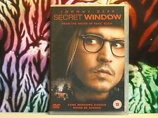 DVD d'occasion excellent état comme neuf : SECRET WINDOW en Anglais