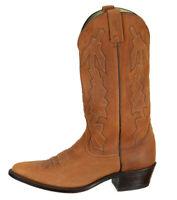 Dan Post Mens P2551 Marlboro Western Cowboy Boots Size 10.5D Brown Leather