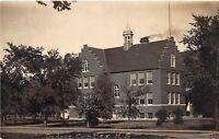 D35/ Dodge Center Minnesota Mn Real Photo RPPC Postcard c1910 High School