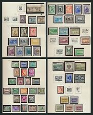 More details for peru stamps 1936-1941 w sets mog inc high val condemarin sc #373, #384 #ap39