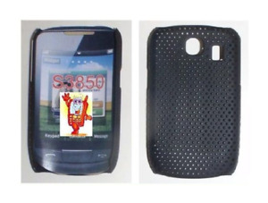 Rückseite Grid (Schwarz) ~ Samsung GT S3850 Corby 2